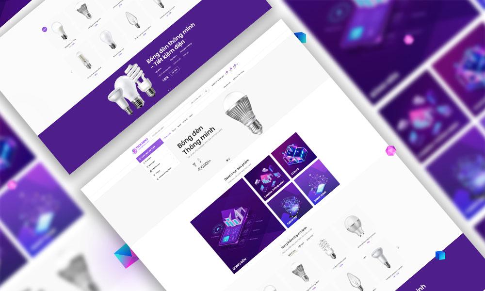 Trang bán hàng sản phẩm công nghệ Elink